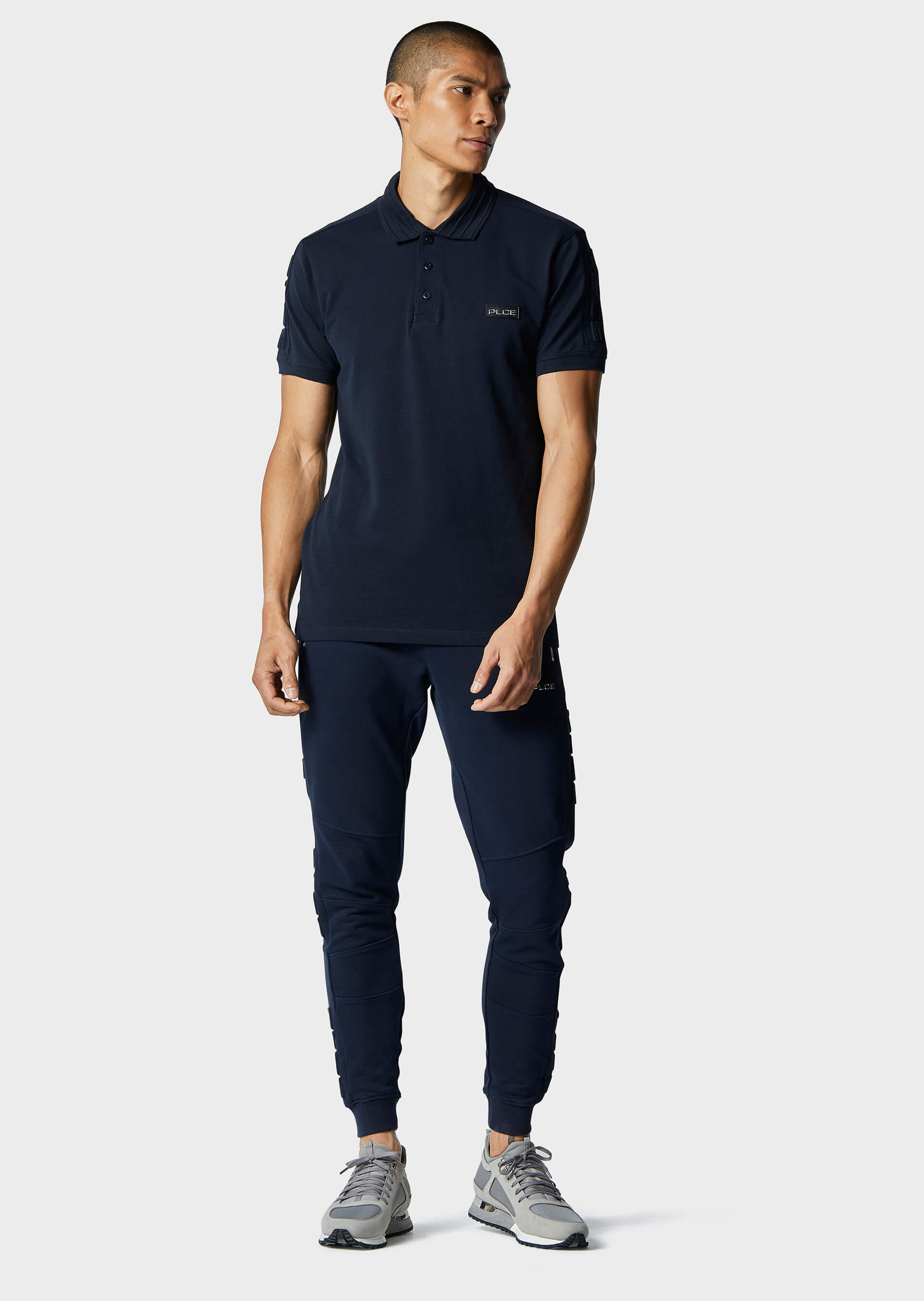 Arche Navy Polo Shirt second_image
