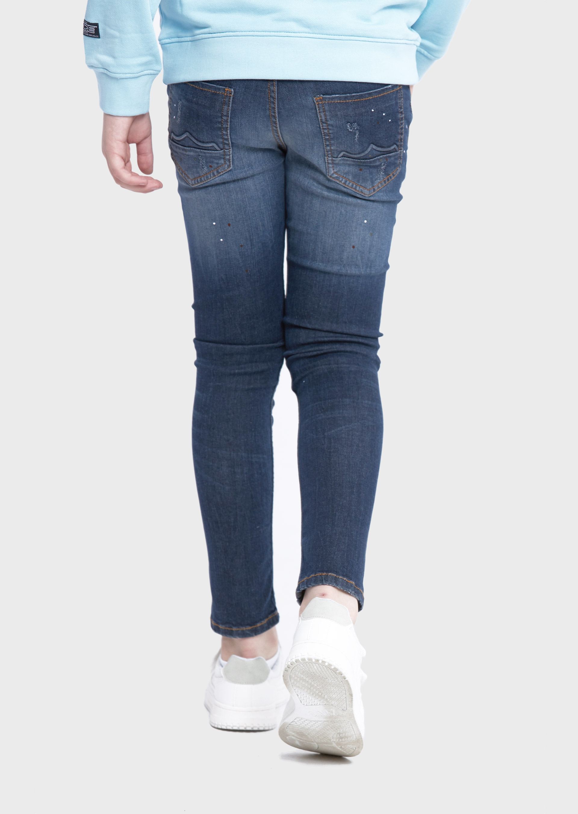 Axul Laker 643 Blue Kids Jeans second_image