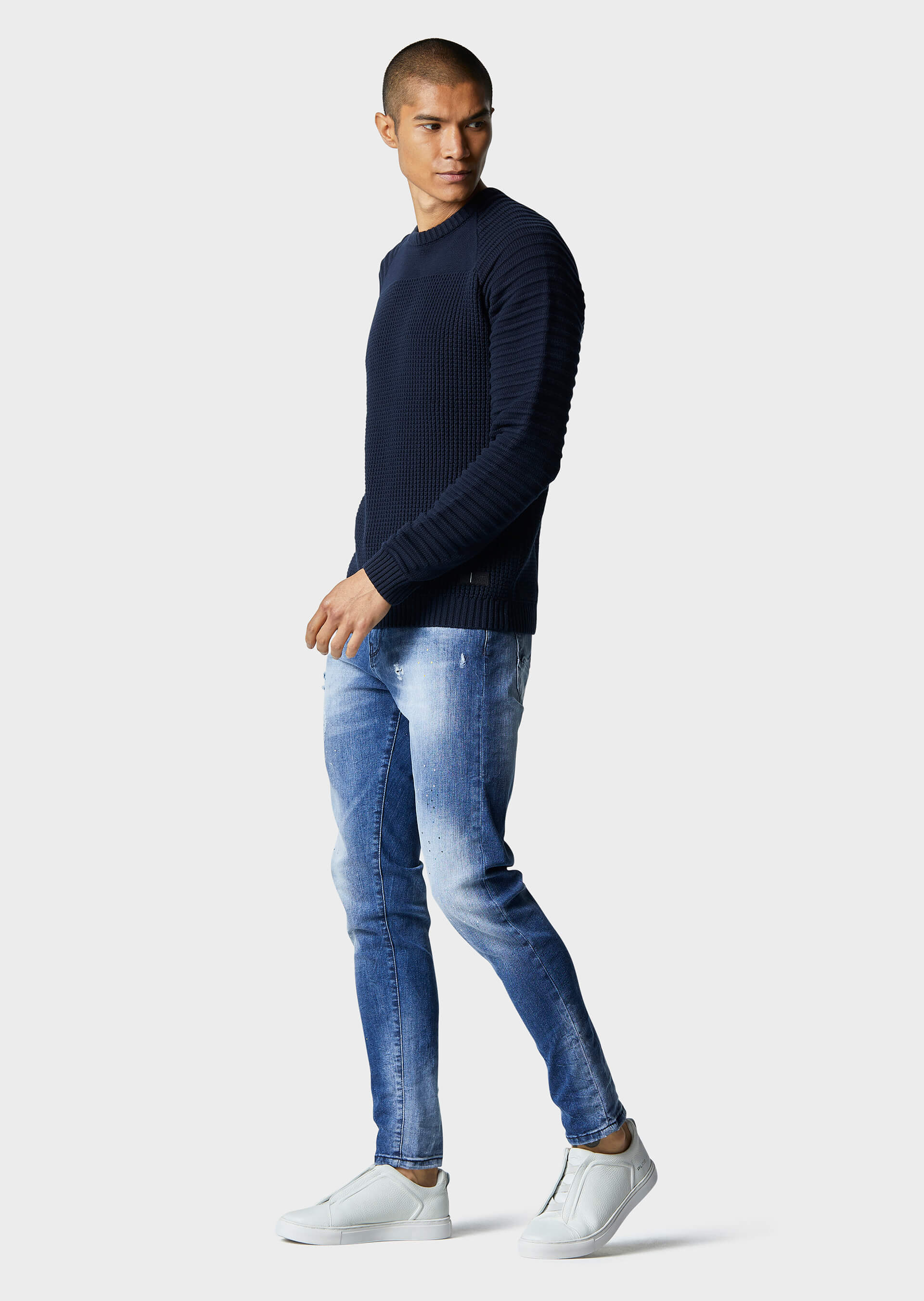Cradle Navy Knitwear second_image