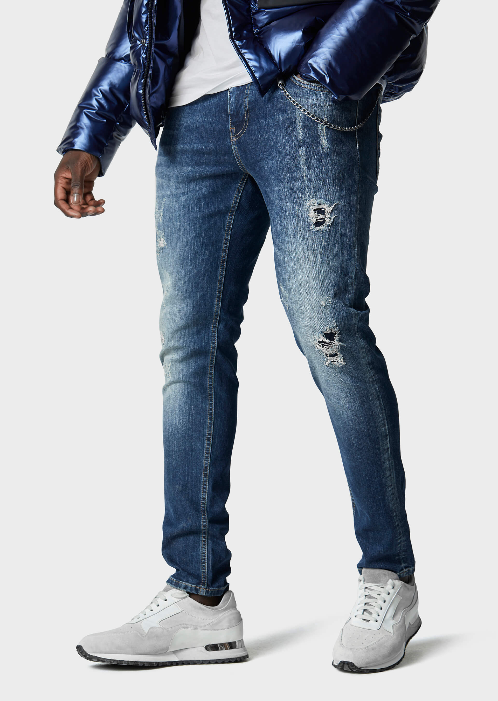 Moriarty COB 717 Slim Fit Jeans second_image