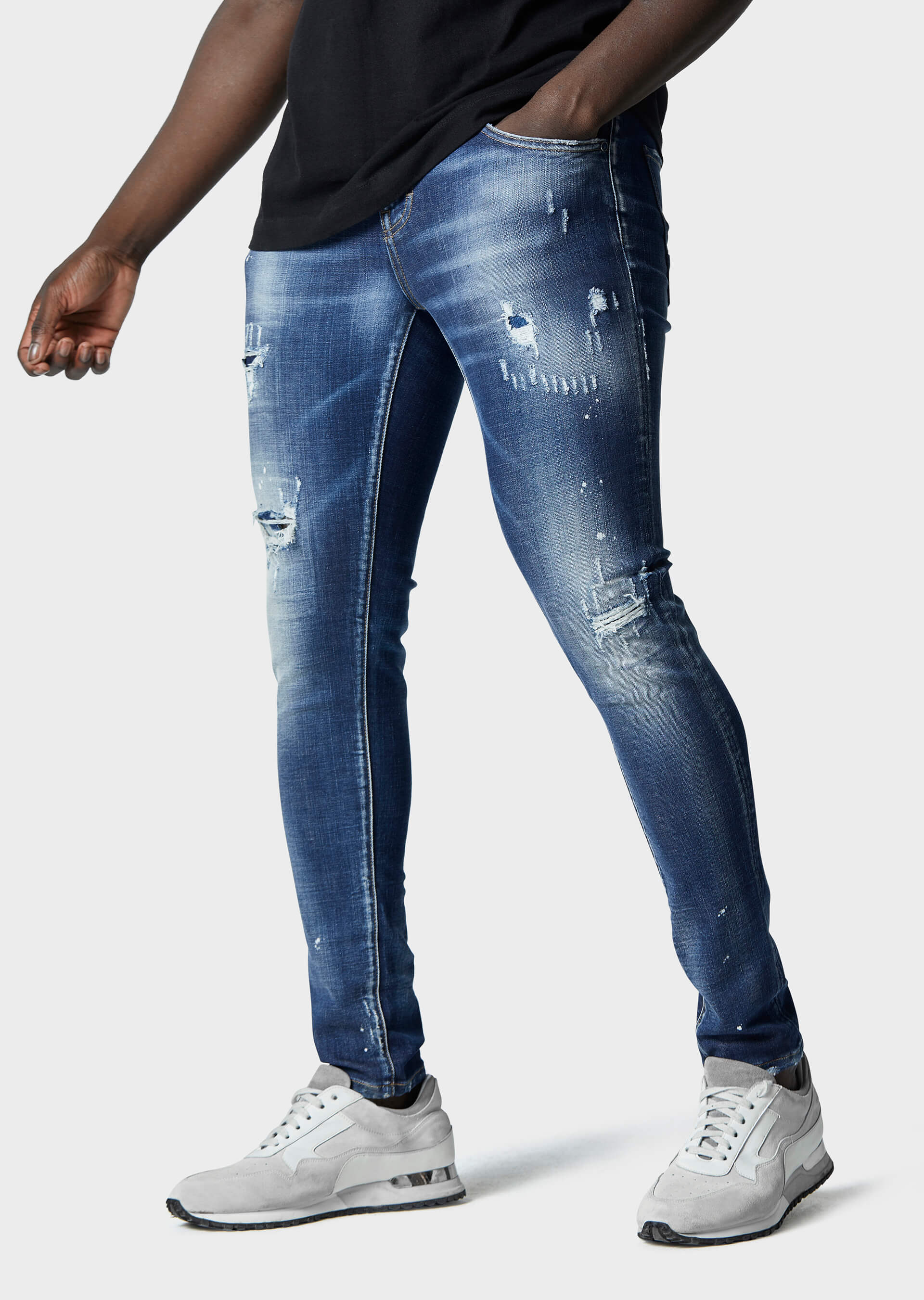 Moriarty COB 718 Slim Fit Jeans second_image