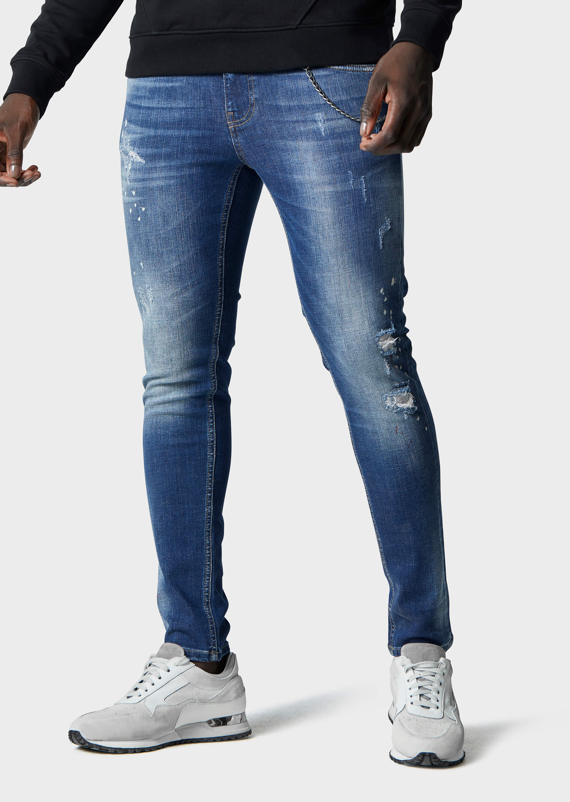 Moriarty COB 719 Slim Fit Jeans second_image