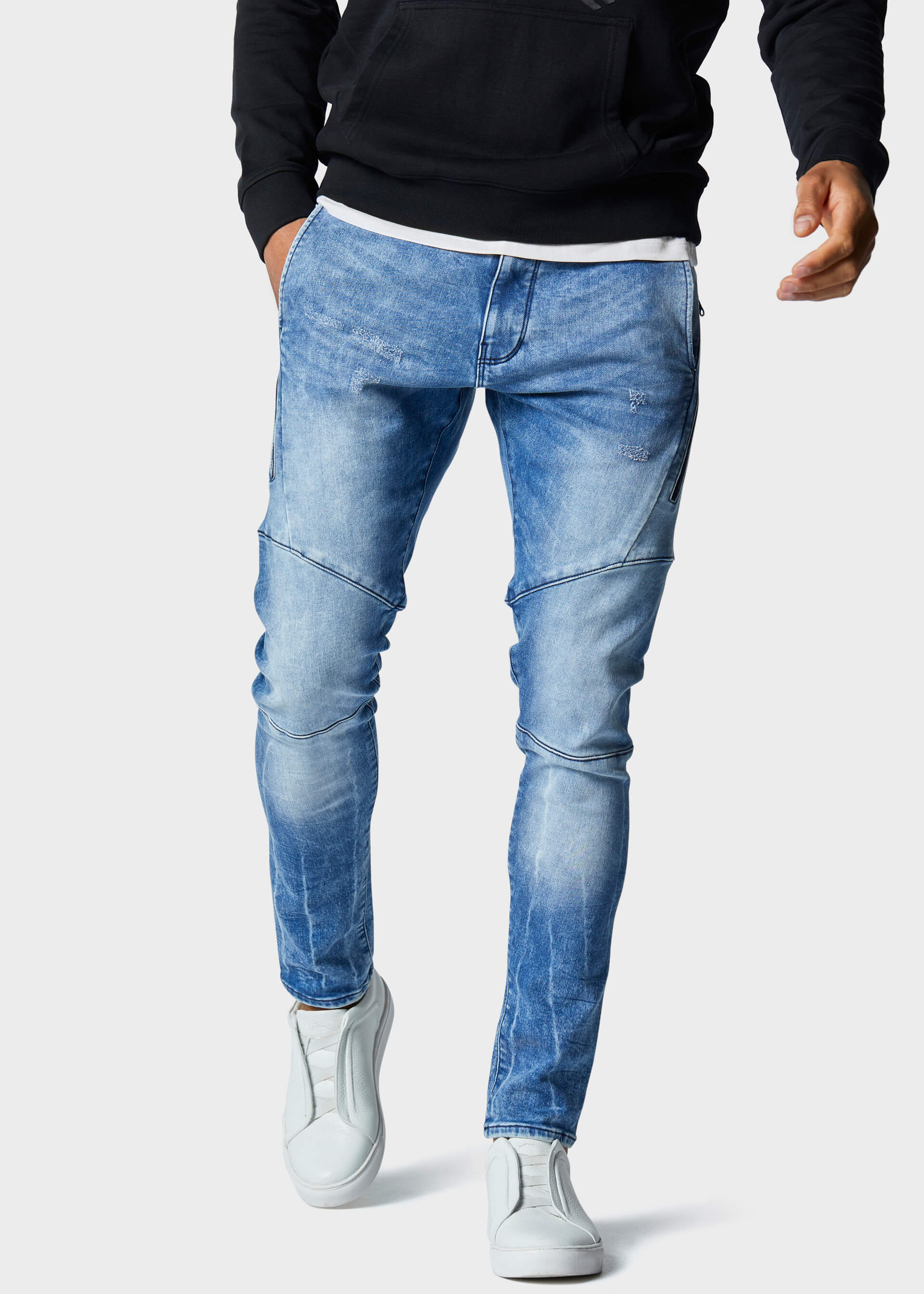 Moriarty ROG 745 Slim Fit Jeans second_image