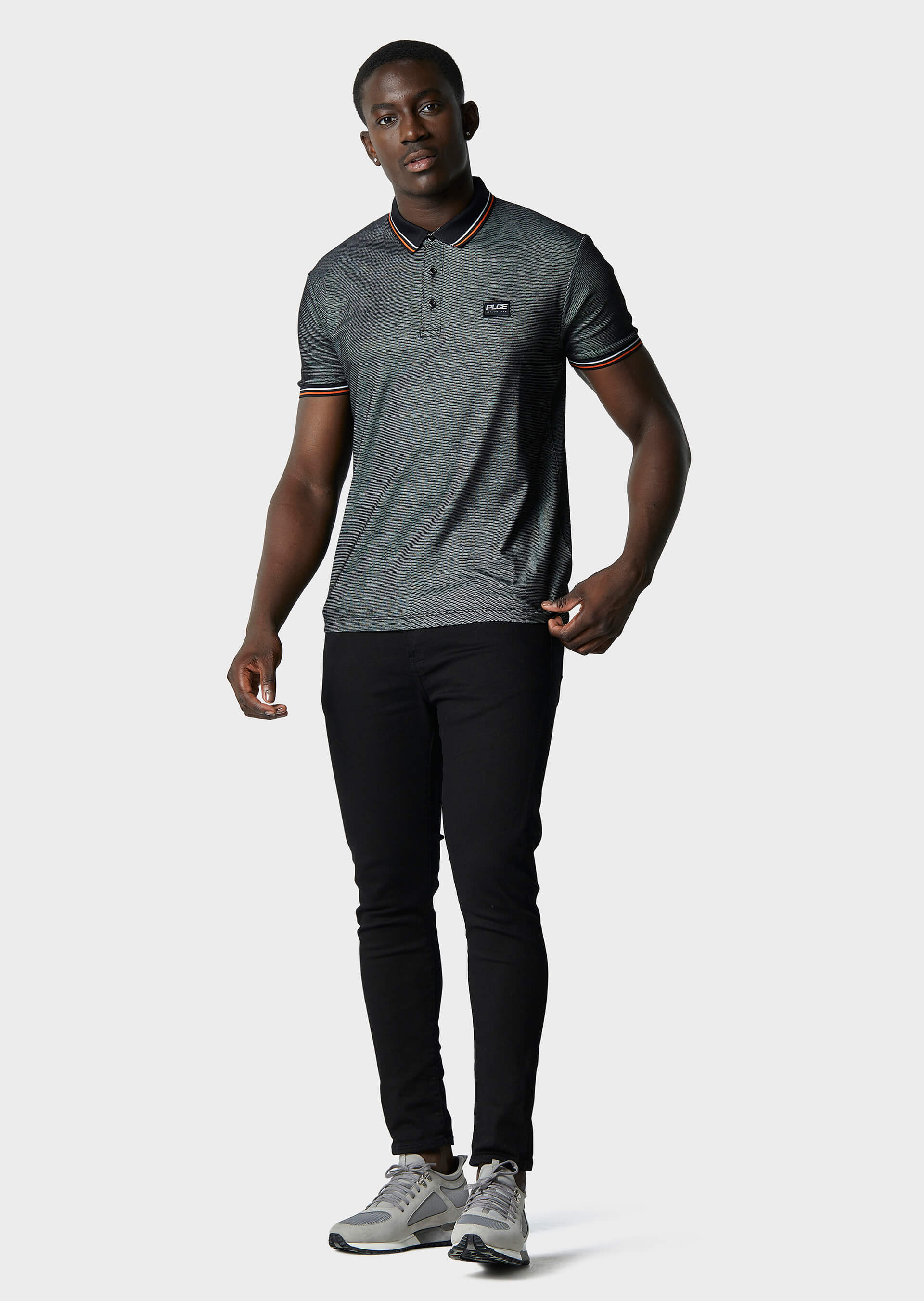 Moxley Black Polo Shirt second_image