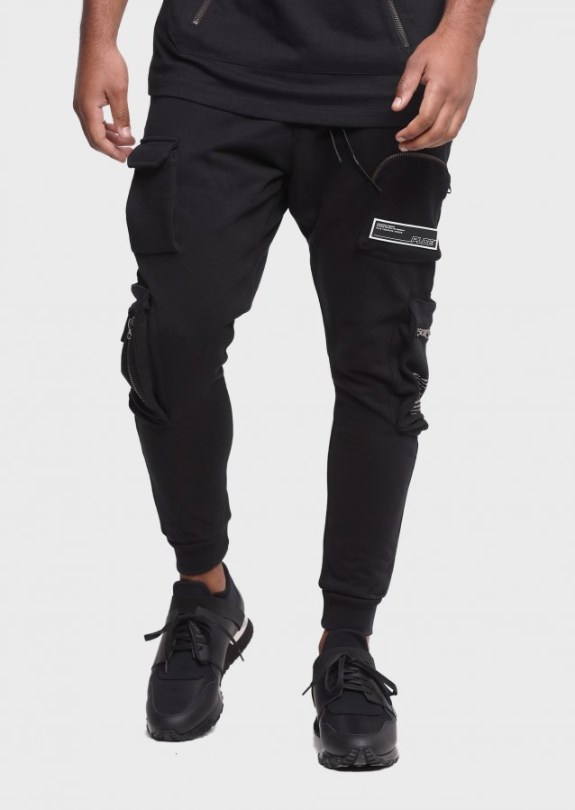 Breamer Black Jogger