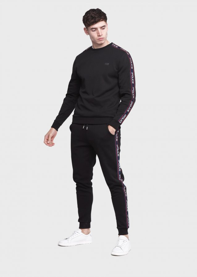Demand Black Joggers