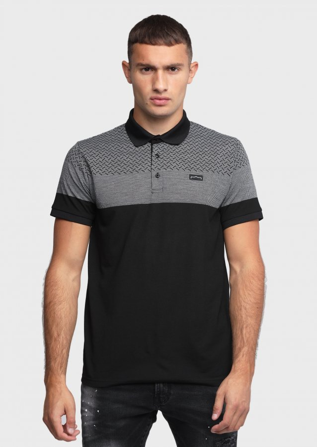 Emerge Black Polo Shirts