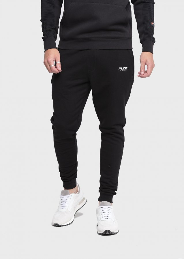 Inherent Jet Black Jogger
