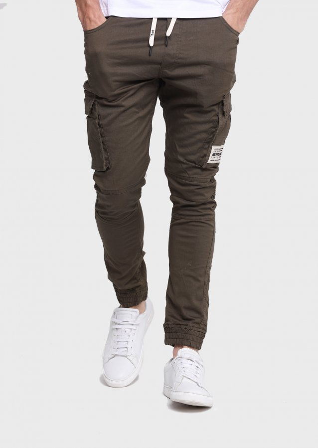 Moriarty Shakes Khaki Slim Stretch Cargo Pant