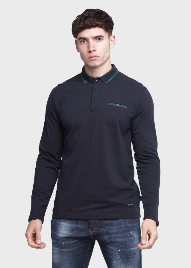 Socaled Navy Polo Shirt