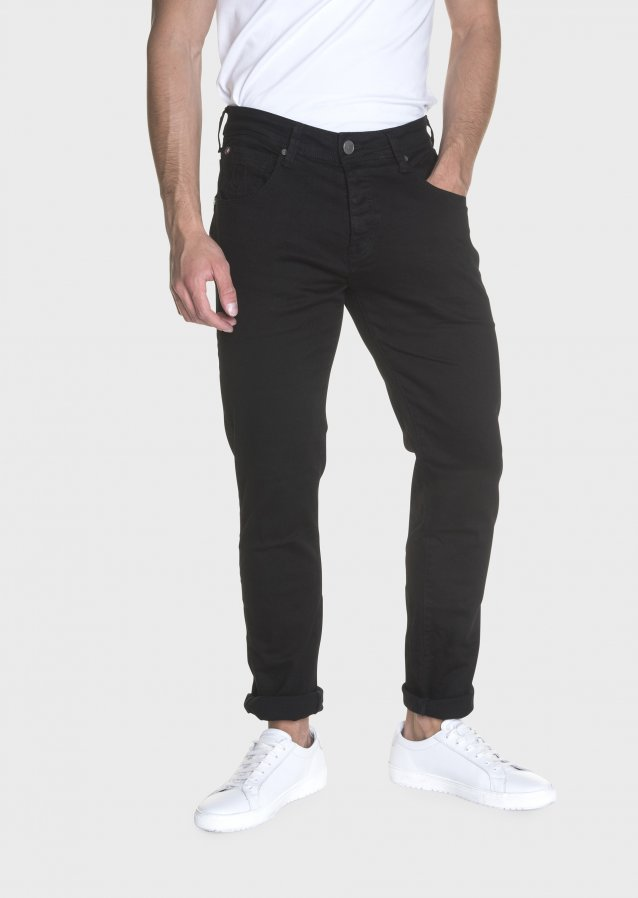 Cassady Mot 383 Clean Black Stretch Regular Jeans