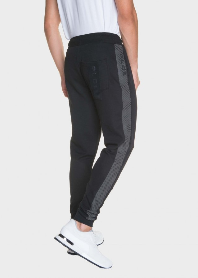 Cheapstow Elasticated Waist With Drawstring Black Jogger