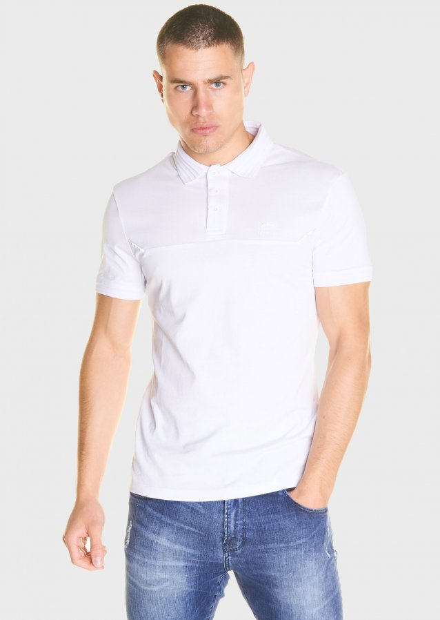 Astley White Polo Shirt