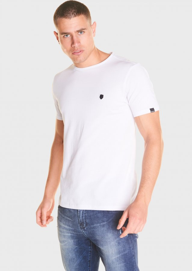Mercerised Cotton Pique T Shirt
