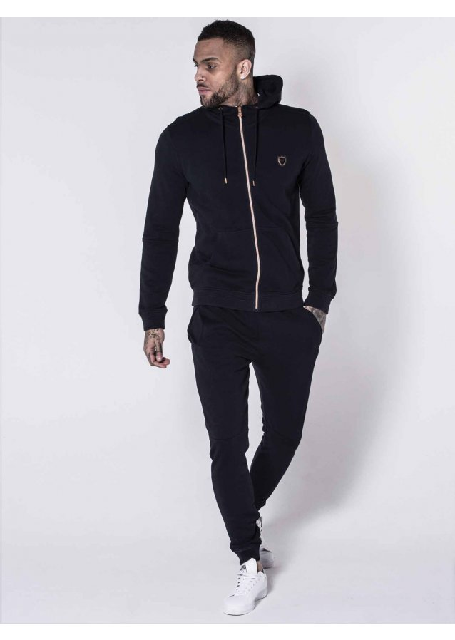 Maira Navy Jogger Suit
