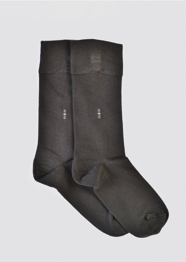 Pair Charcoal Socks