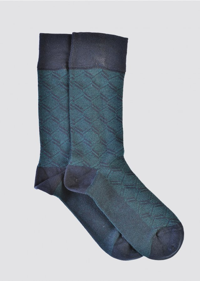 Pattern Forest Fir Socks