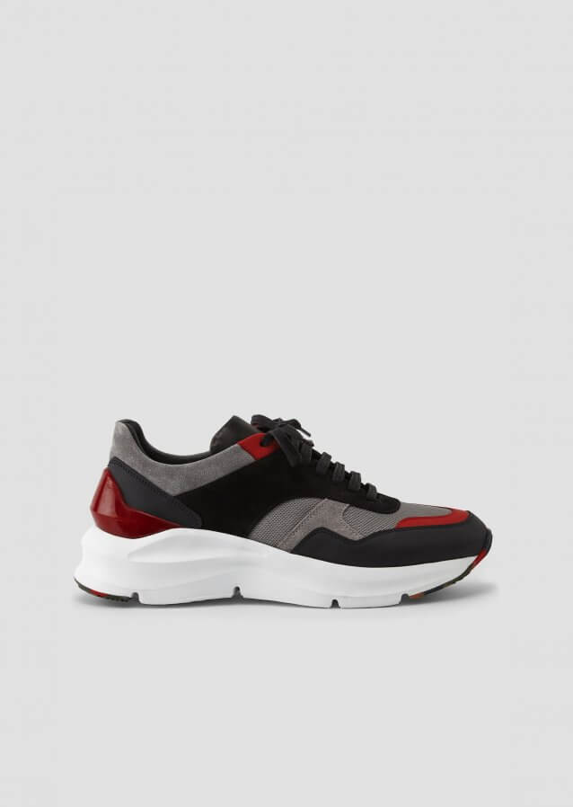 Quinto Black Red Sneaker