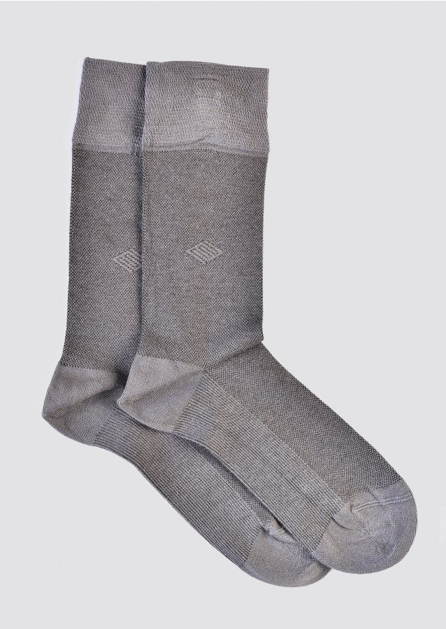 Soft Grey Socks