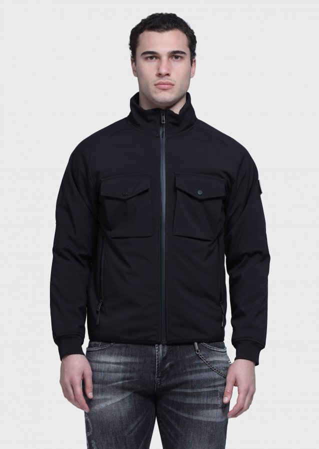 Softshell Black Jacket