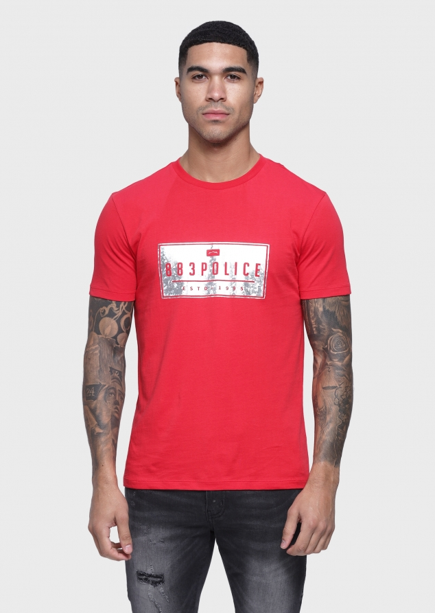Hoop T Shirts (Red;S)