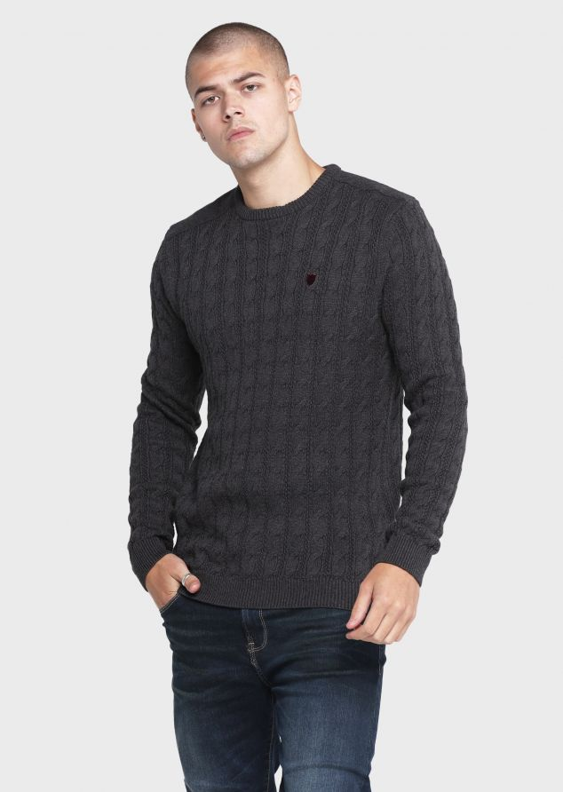 Hapes Knitwear (Charcoal;S)