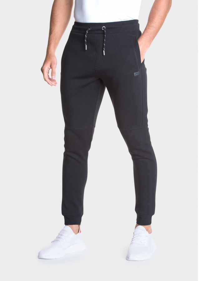 Duced Black Joggers