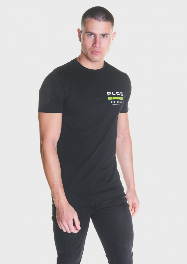 Helmsy Black T Shirt