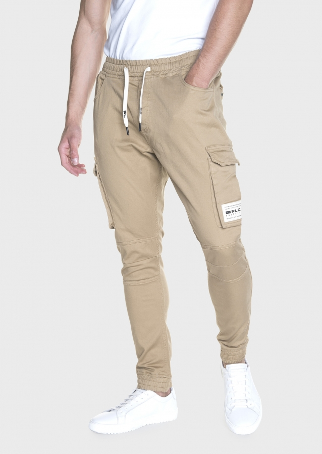 Moriarty Shakes Stone Slim Stretch Cargo Pant