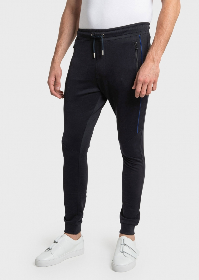 Yettings Navy Joggers