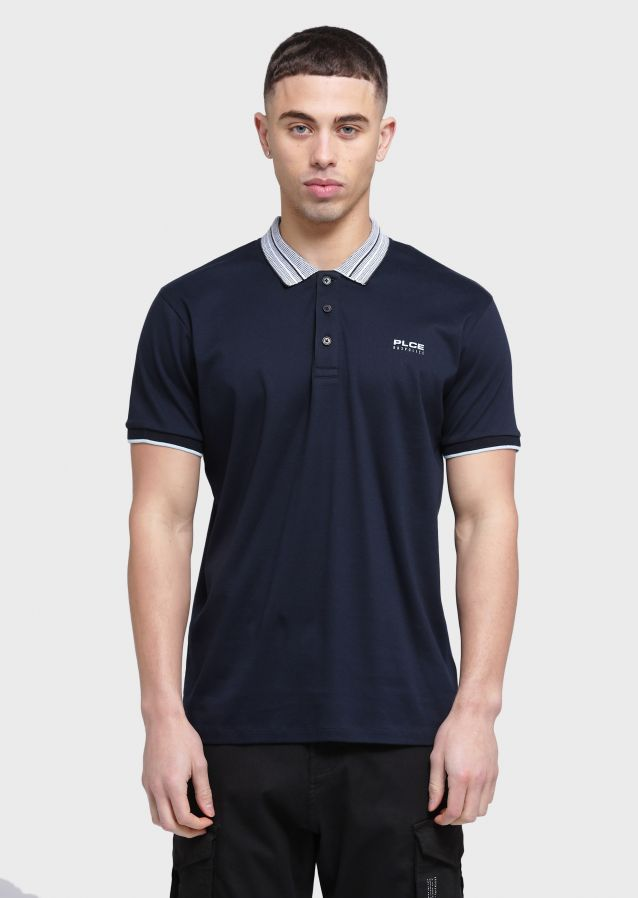 Lindale Polo Shirts (Navy;S)