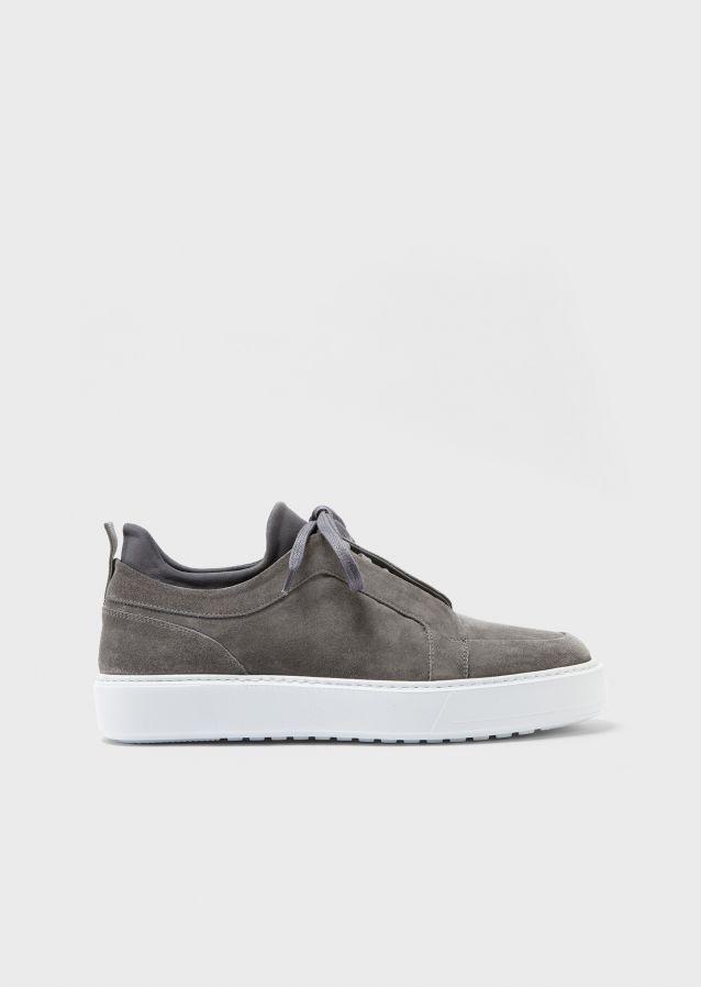 Common Sneakers Suede Leather