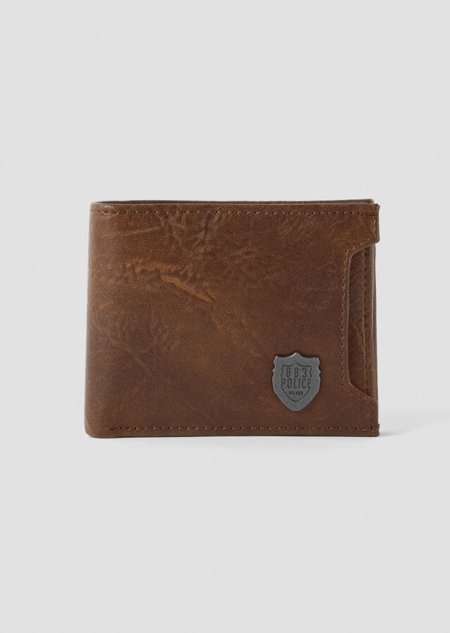 Lazzaro Brown Wallet