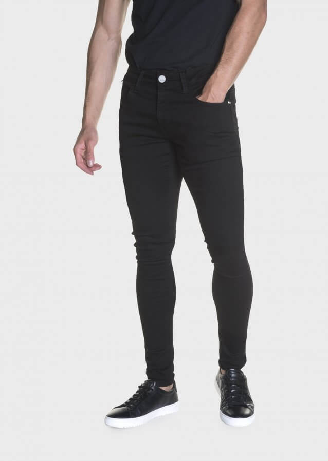 Brady Deegan 383 Clean Black Skinny Stretch Jeans