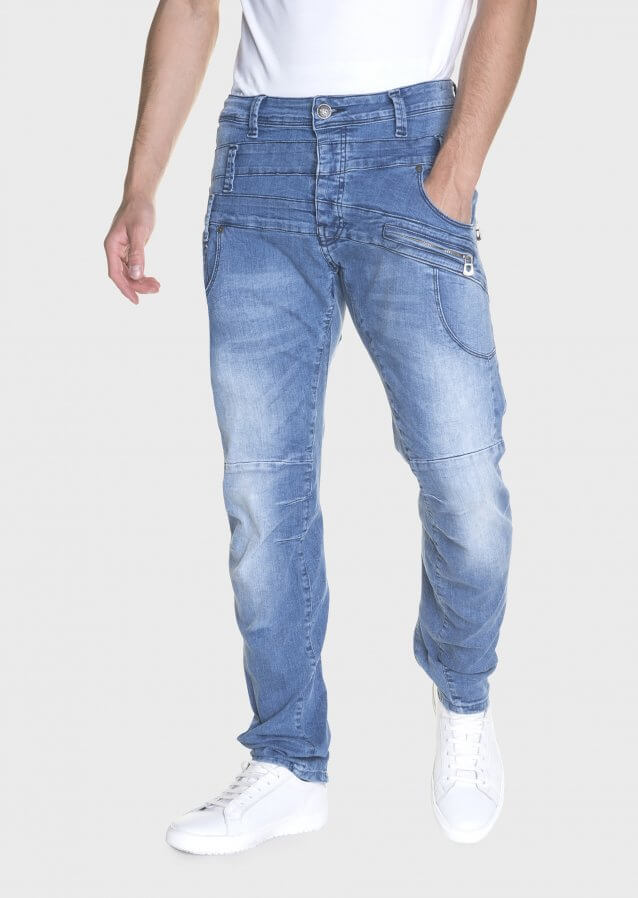 Hazard Had 361 Twisted Stretch Waistband Detail Jeans