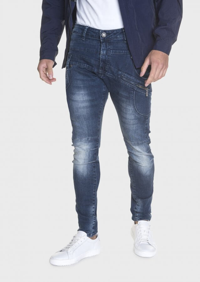 Hazard Had 470 Twisted Waistband Detail Stretch Jeans