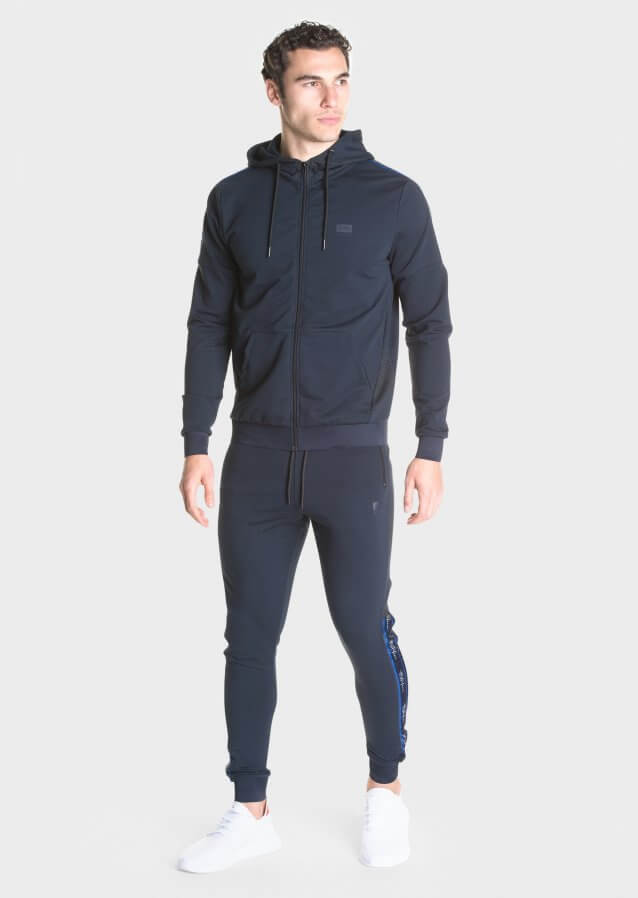 Lessio Navy Joggers