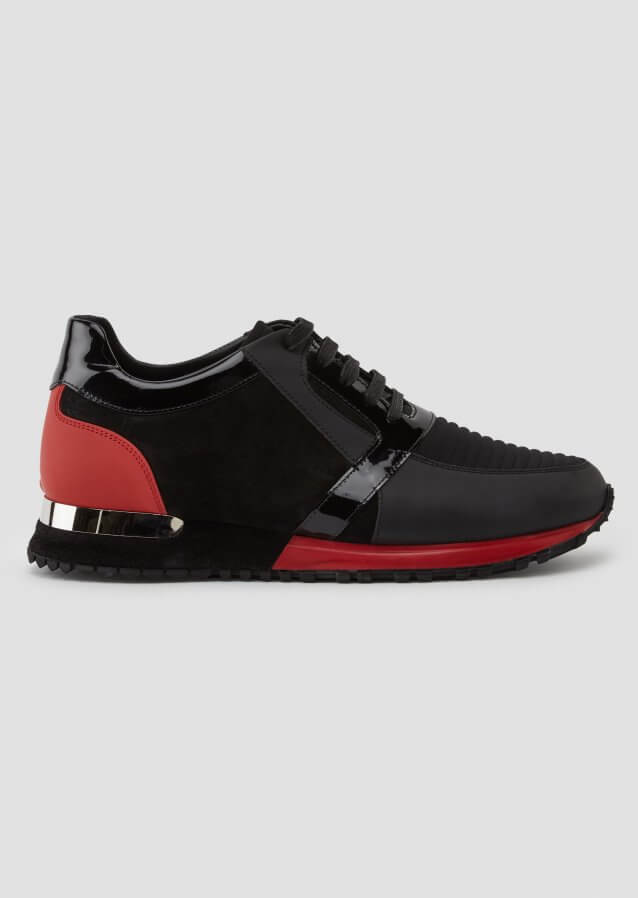 Luka Red Black Sneaker