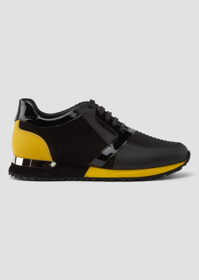 Luka Black Yellow Sneaker