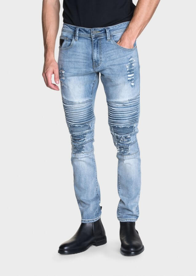 Moriarty Buell 479 Slim Fit Stretch Jeans