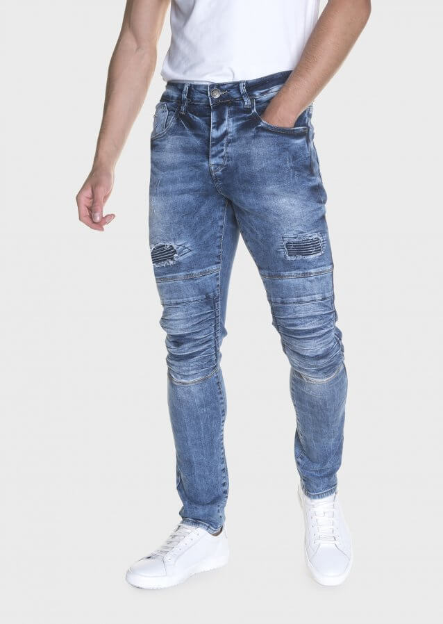 Moriarty Els 515 Slim Stretch Knee Panel Jeans
