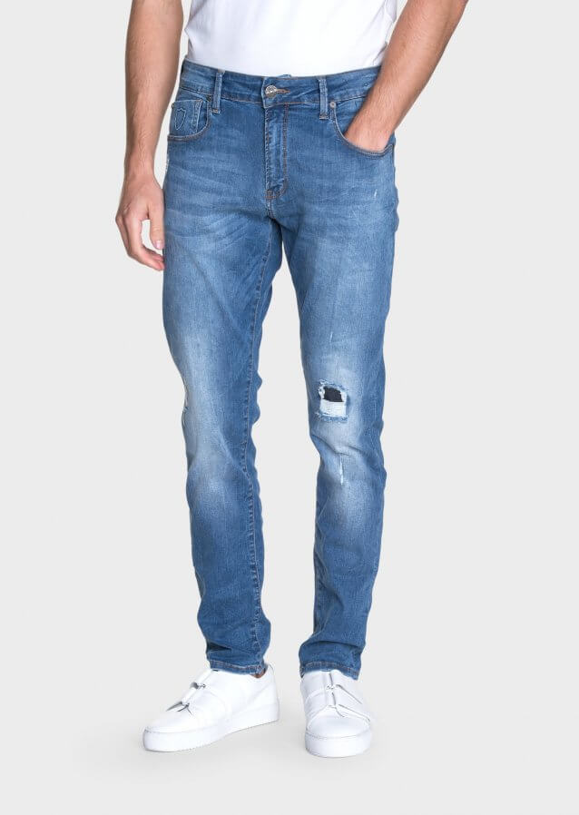 Moriarty Lak 521 Active Flex Slim Fit Jeans