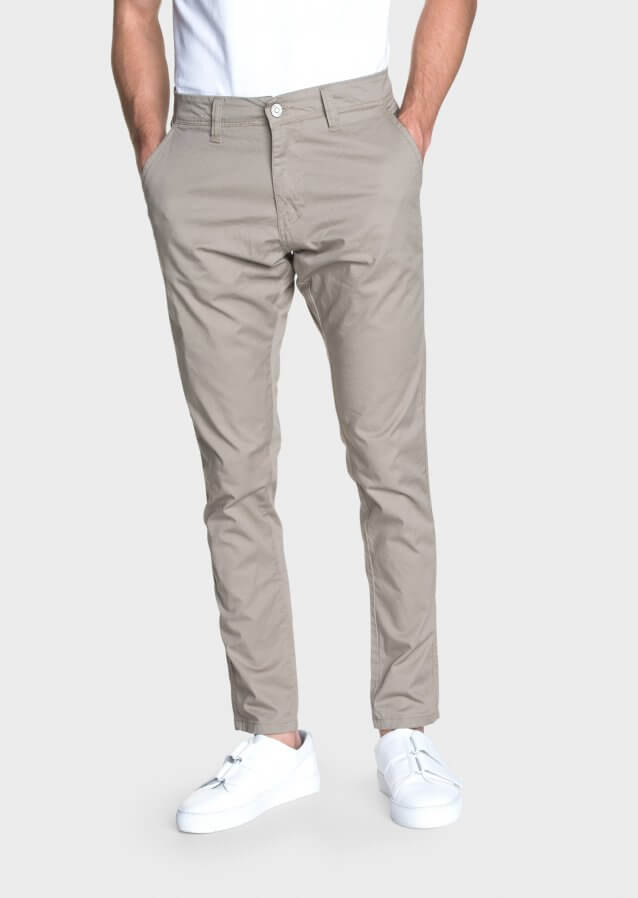 Moriarty Wal Beige Regular Fit Chino