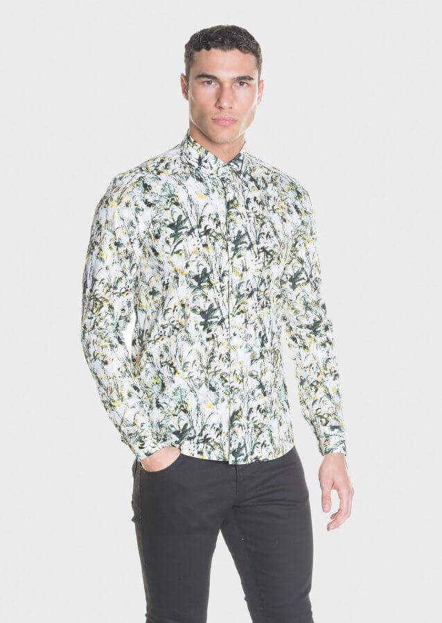 Prey Casual Floral Print Shirt