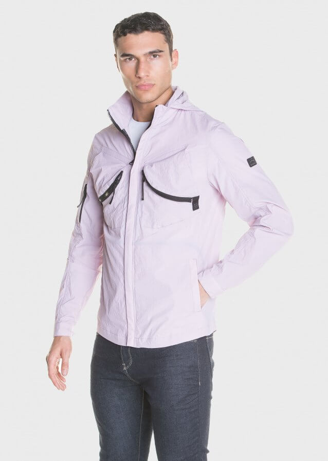 Zip-up Lightweight shell jacket