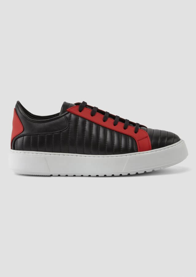 Sante Black Red Sneaker