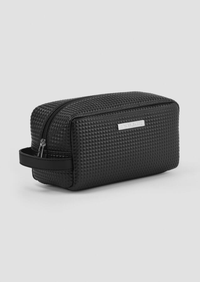 Wash Bag rubberised logo