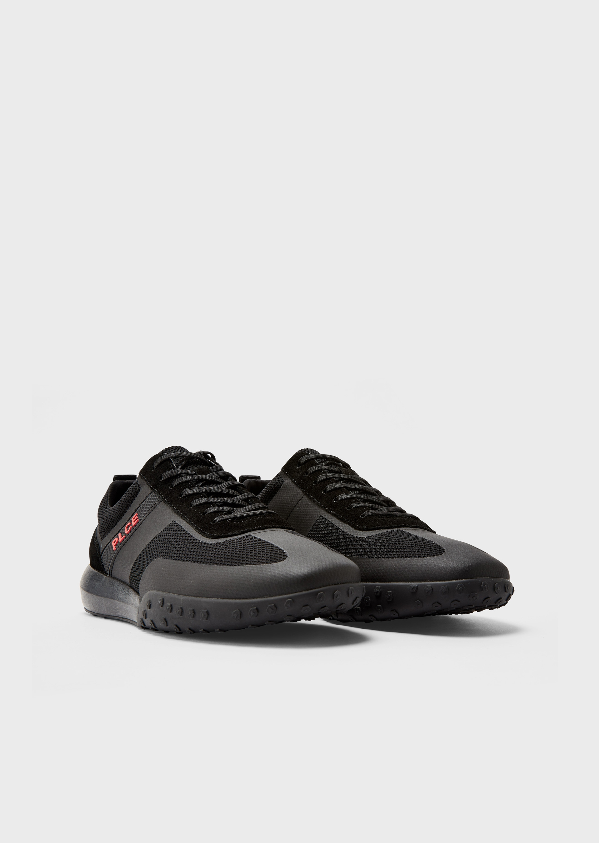 Project Technical Black Fabric Sneakers second_image